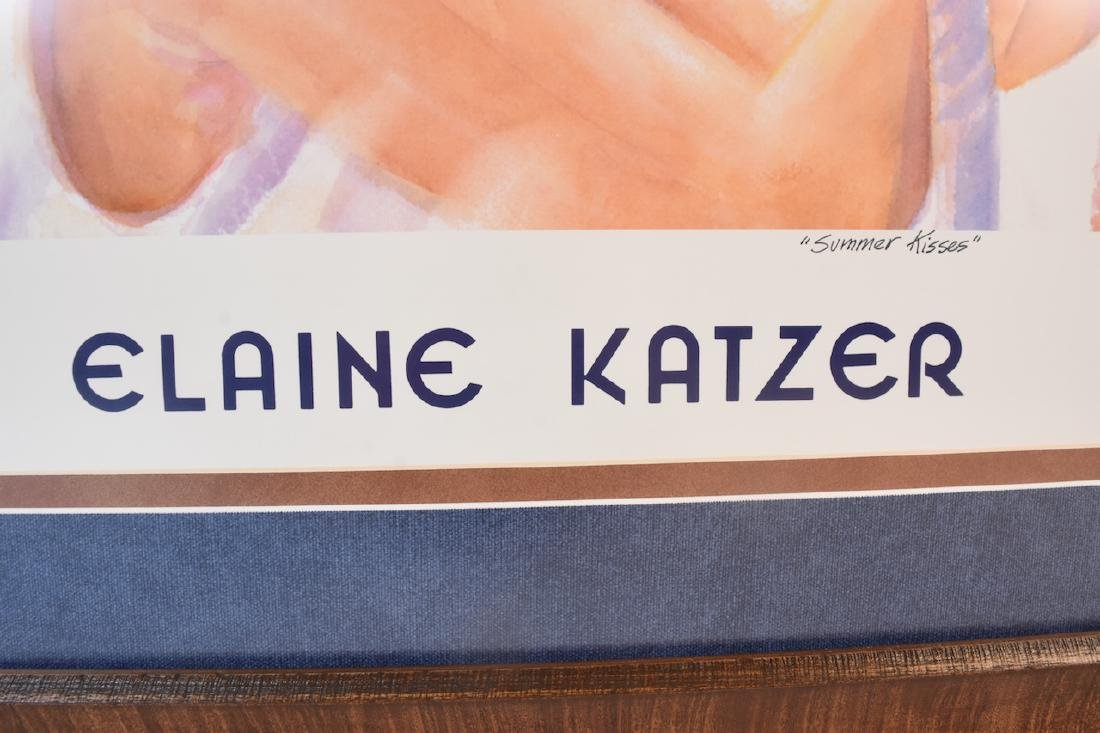 "Elaine Katzer ""Summer Kisses"" Print, SLL - 5"