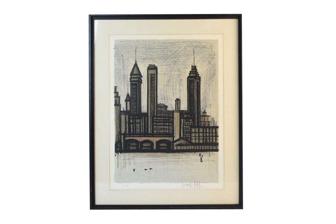Bernard Buffet Print of Staten Island, NY, SLR