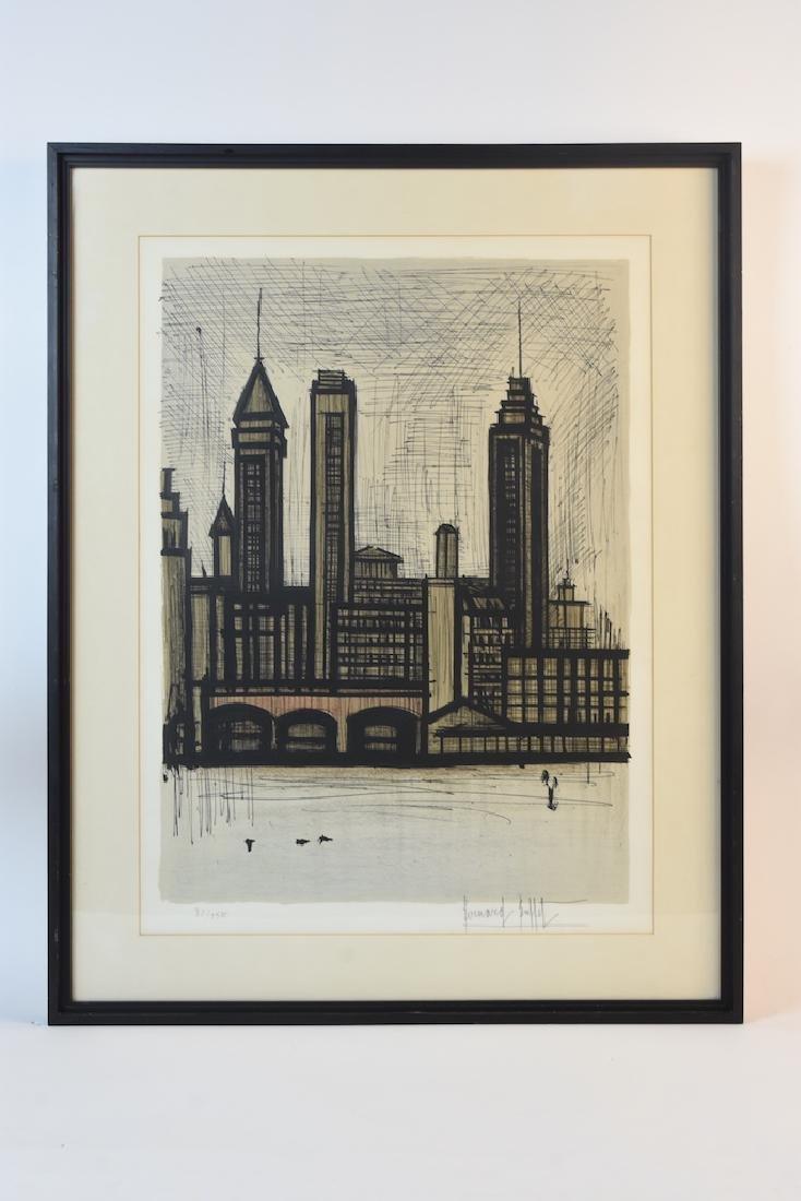 Bernard Buffet Print of Staten Island, NY, SLR - 2