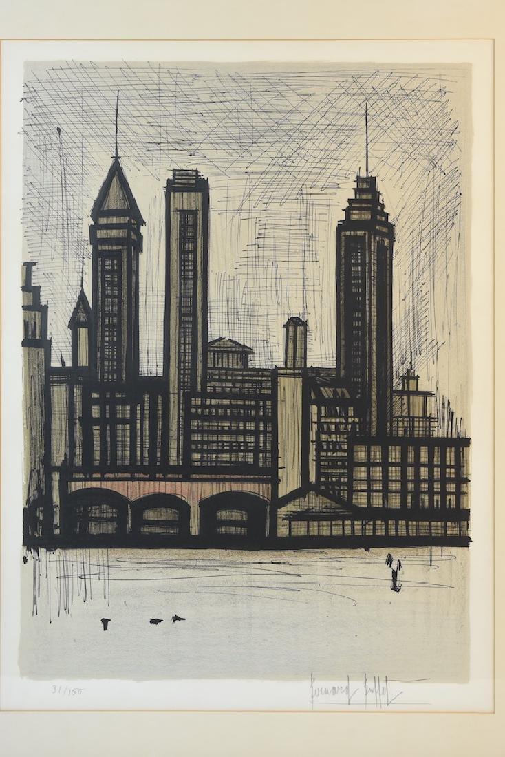 Bernard Buffet Print of Staten Island, NY, SLR - 3