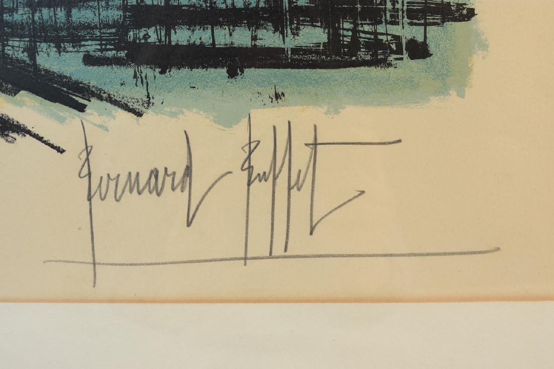 Bernard Buffet Print of Notre Dame, SLR - 4