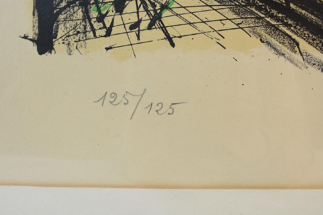 Bernard Buffet Print of Notre Dame, SLR - 5