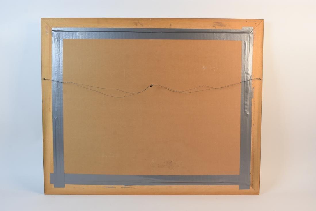 """Guy Bardone """"le Garden"""" Lithograph, SLR - 5"""