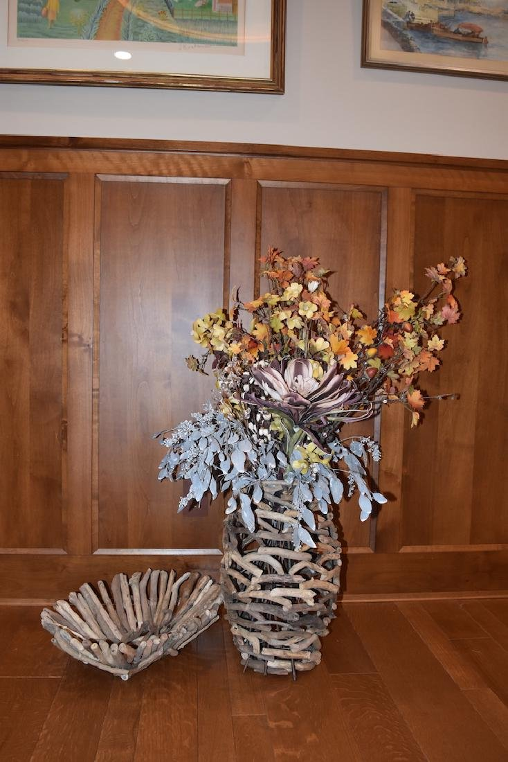 Driftwood Bowl and Vase - 2