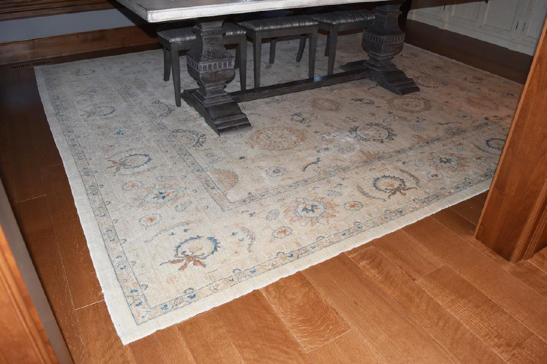 11' x 10' Room Size Hand Woven Rug