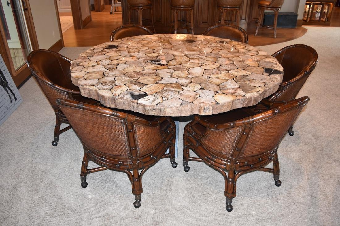 """72"""" Petra Dining Room Table from Arhaus Furniture"""
