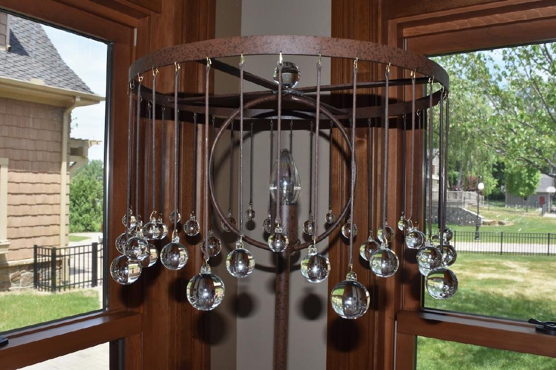 Made in Italy Glass Bubbles Floor Lamp - 2