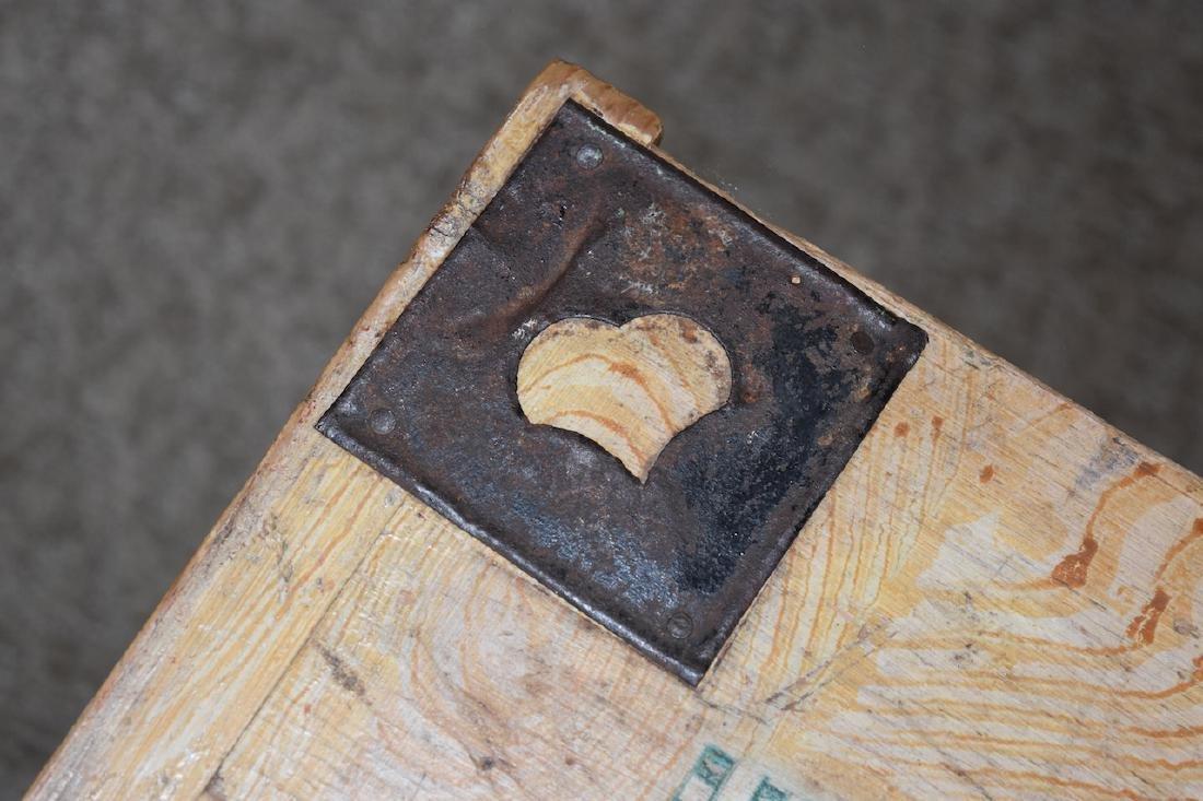 Reclaimed Wood Embellished Trunk - 3