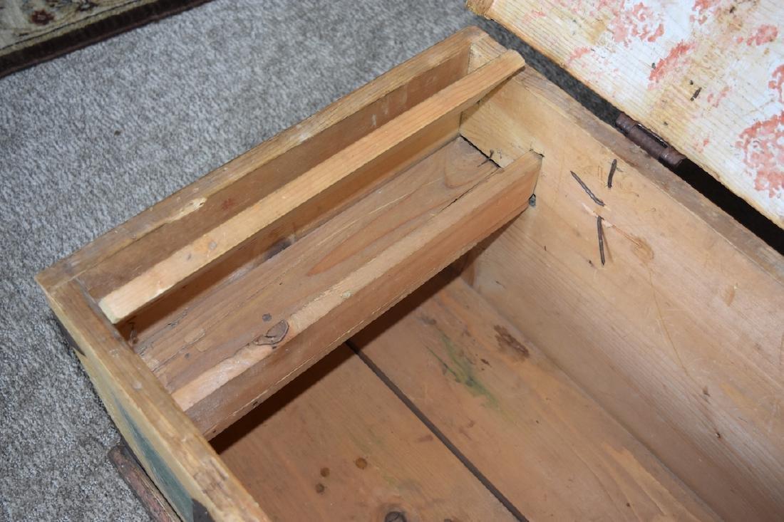 Reclaimed Wood Embellished Trunk - 6