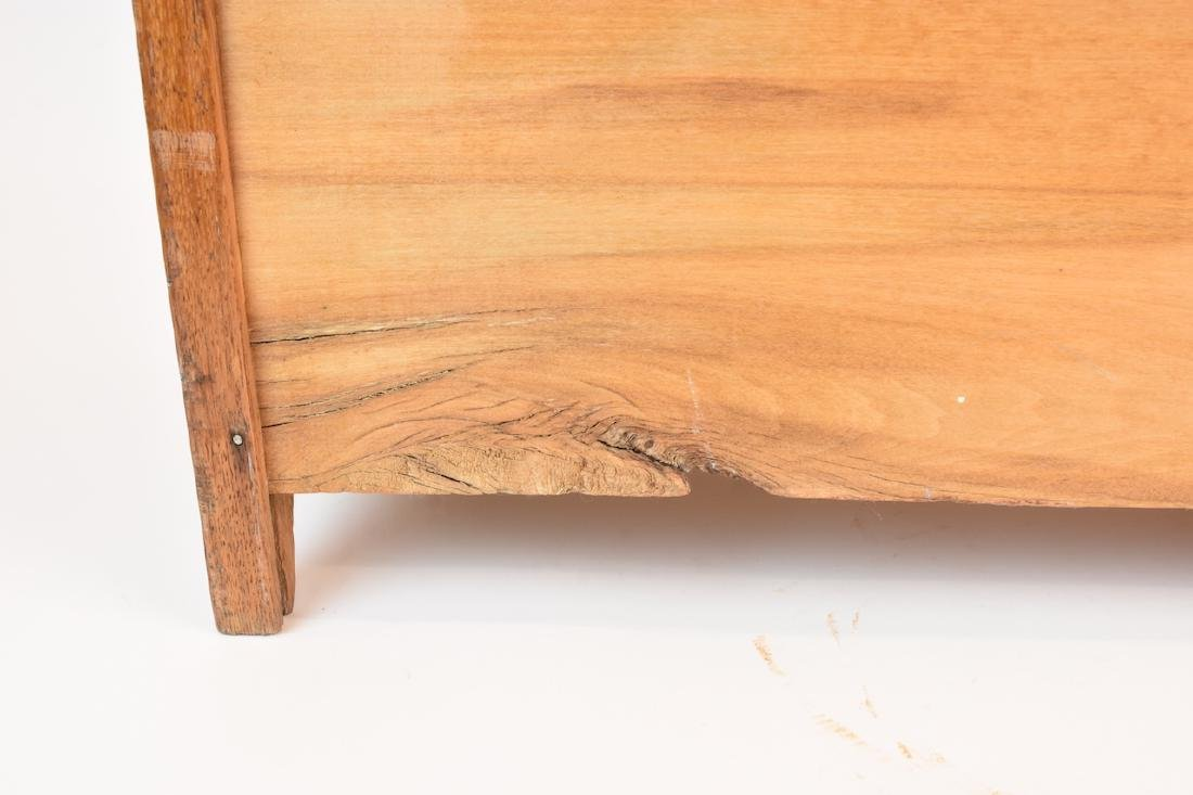 Vintage Oak Doll Size Chest of Drawers - 7
