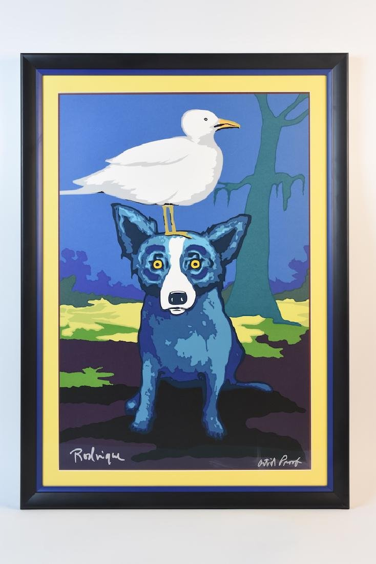 George Rodrigue Blue Dog Pop Art Artist Proof