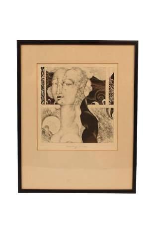 Eberhard Eggers Portrait of a Proud Lady