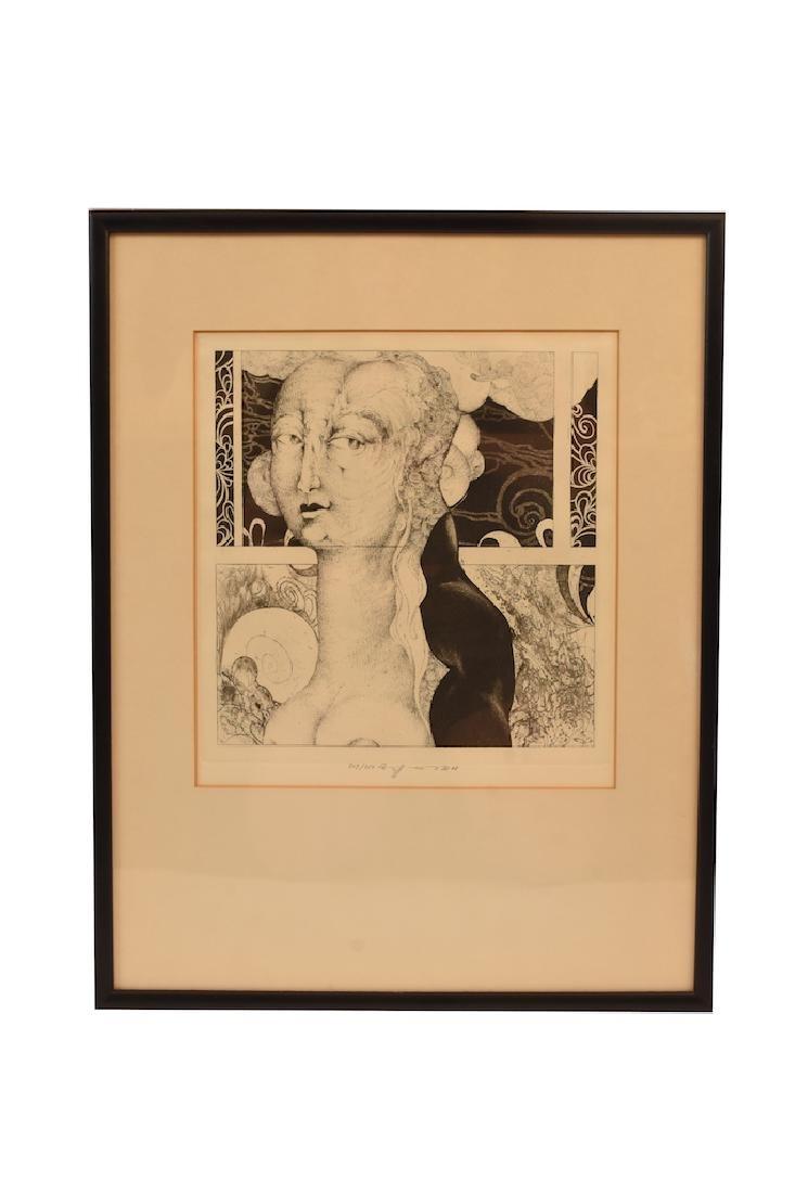 "Eberhard Eggers ""Portrait of a Proud Lady"""
