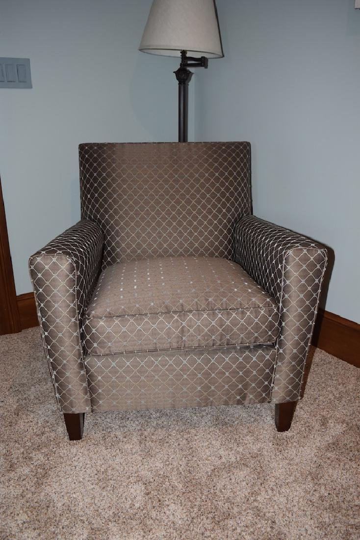 Upholstered Accent Arm Chair - 2
