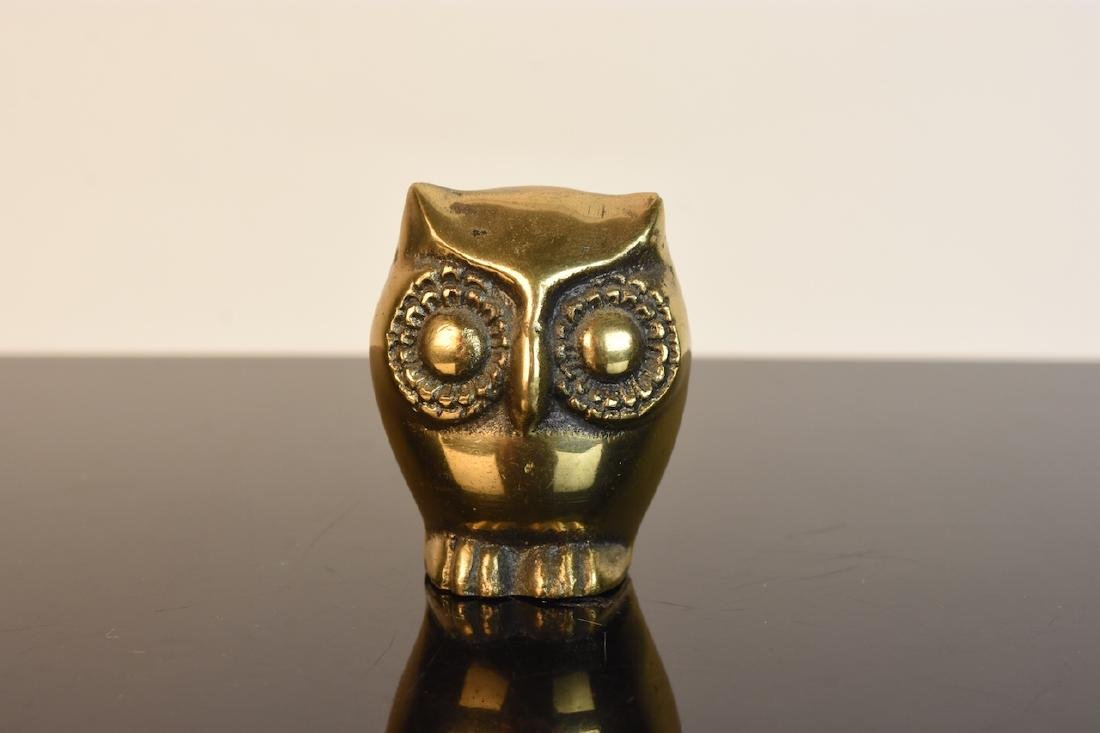 Collection of Owl Figurines & Paperweights - 10