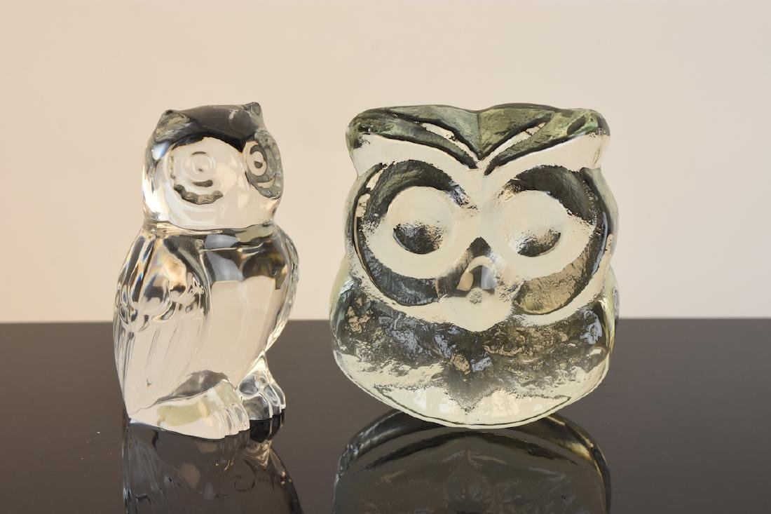 Collection of Owl Figurines & Paperweights - 4