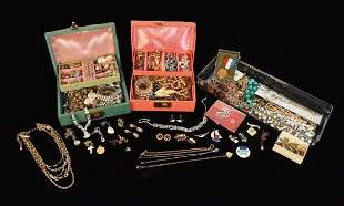 Costume Jewelry, Several Designer Signed Pieces