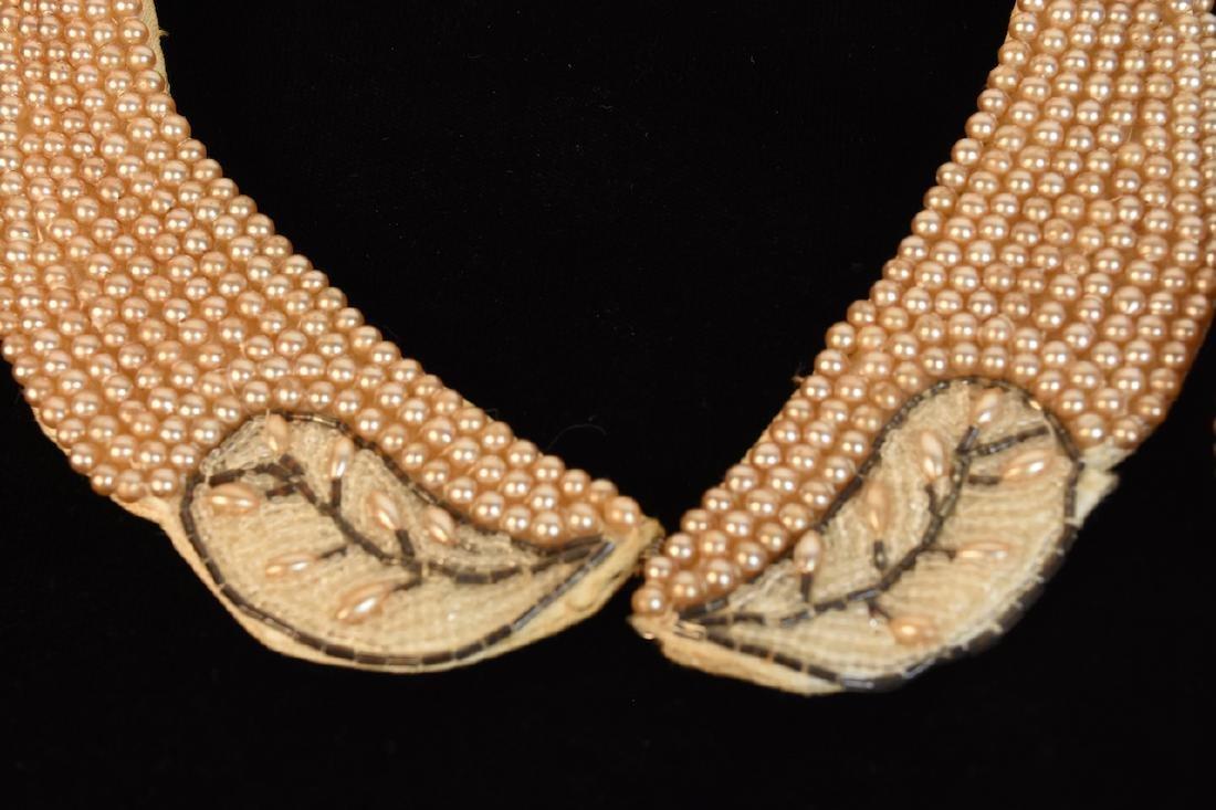 Vintage Sharonee Beaded Purse and Collar - 2