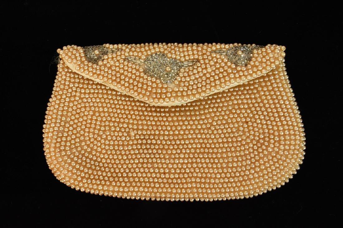 Vintage Sharonee Beaded Purse and Collar - 3