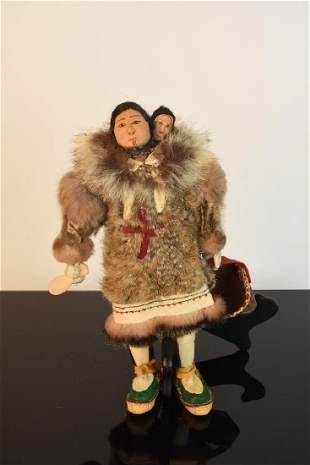 Ethel Washington Alaskan Eskimo Inuit Doll?