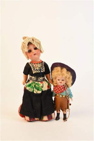 (2) Vintage Dolls