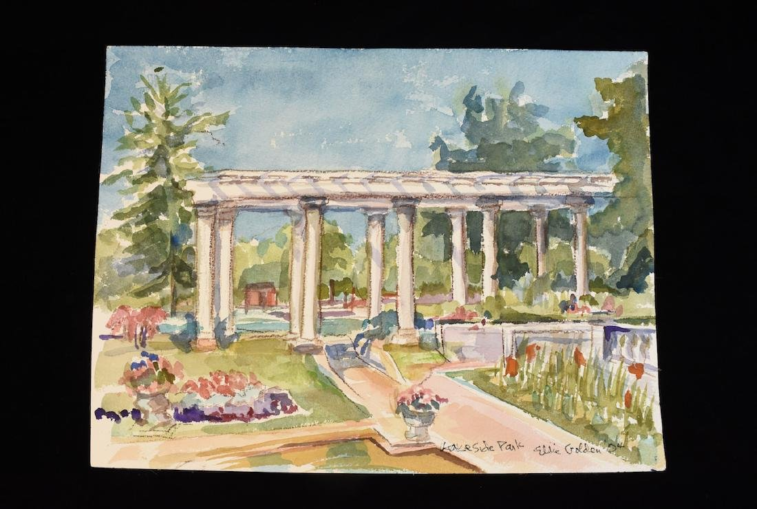 Original Watercolor by Ellie Golden; SLR