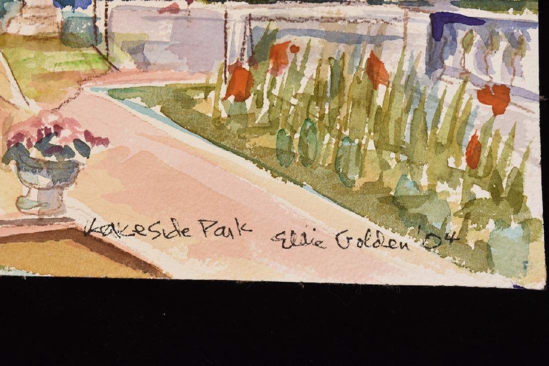 Original Watercolor by Ellie Golden; SLR - 2
