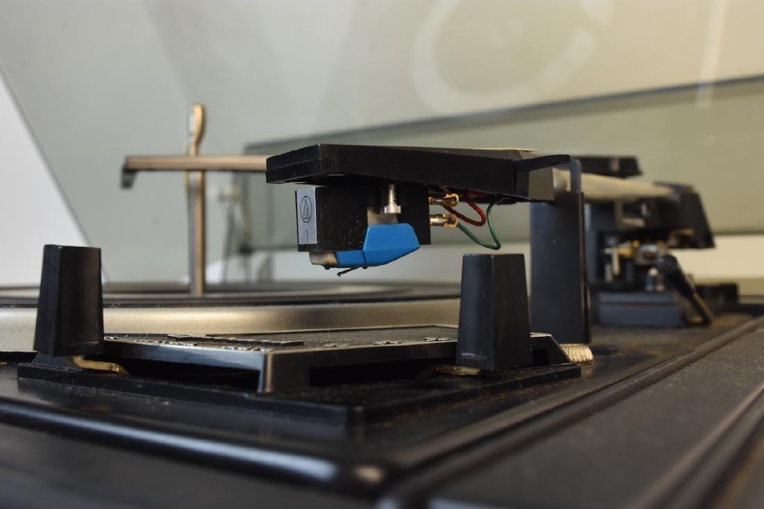 Garrard SL 55B Synchro Lab Vinyl Turntable - 6