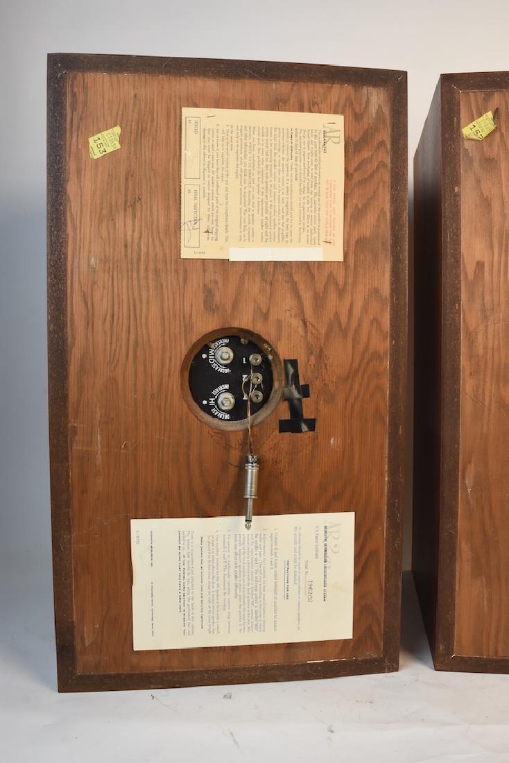 Pair of Vintage AR-2ax Speakers - 3