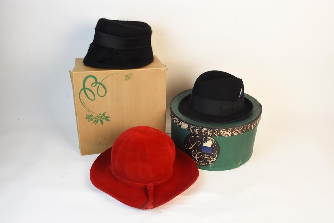 Vintage Fedora and Women's Hats