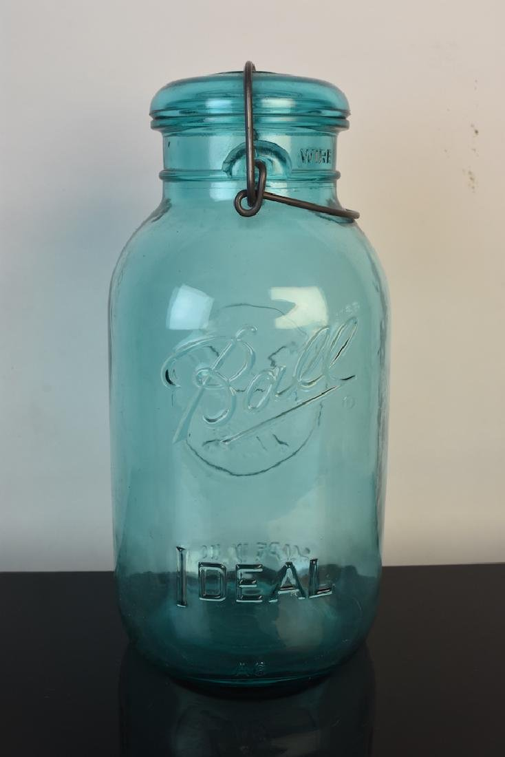 Vintage Ball Jars and Puraq Fort Wayne Bottle - 11