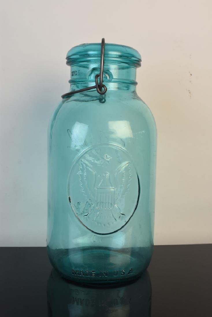 Vintage Ball Jars and Puraq Fort Wayne Bottle - 12