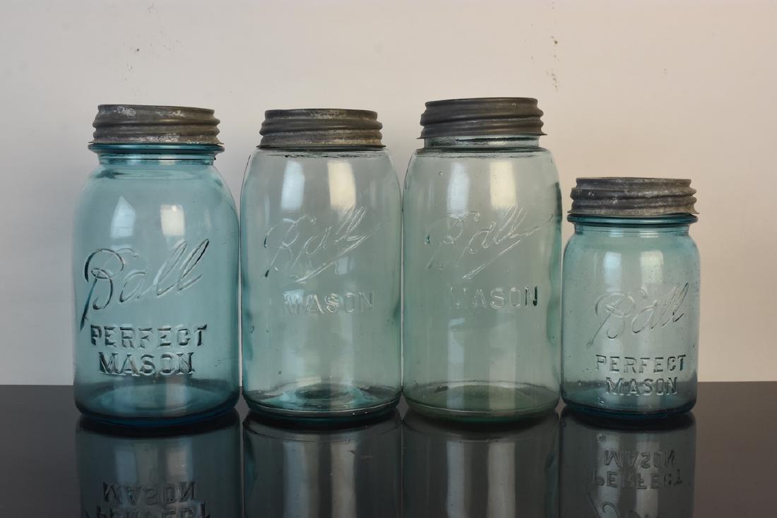 Vintage Ball Jars and Puraq Fort Wayne Bottle - 7