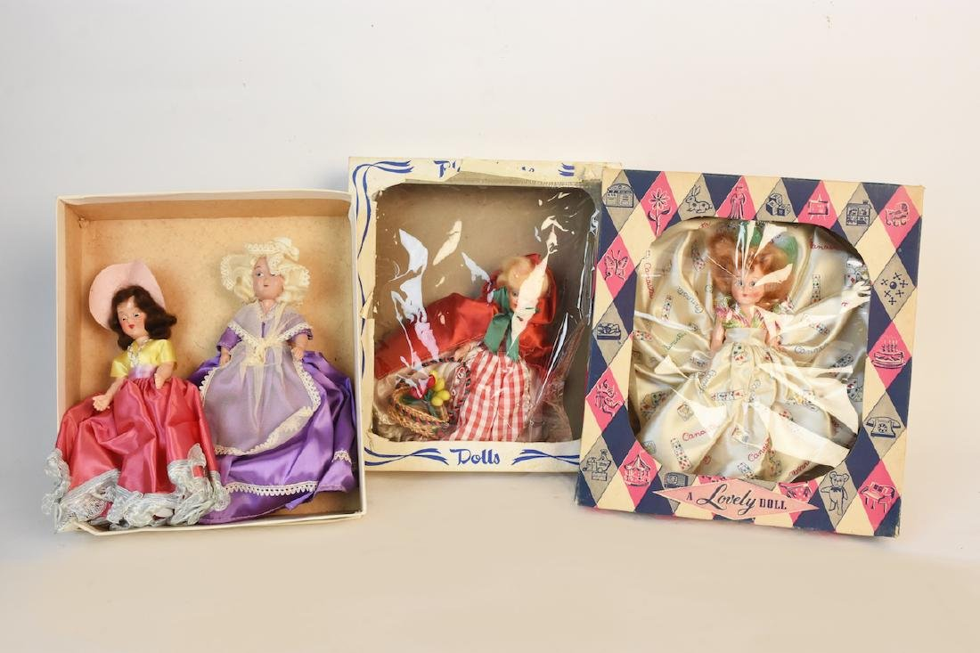 Vintage Dolls; Canasta, Play House, A Lovely Dolls