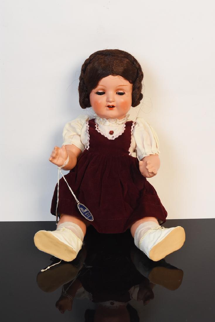 German Celluloid Doll w/ Turtle Mark