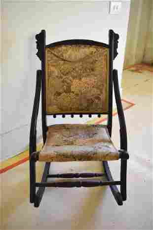 Childs Folding Wooden Rocking Chair