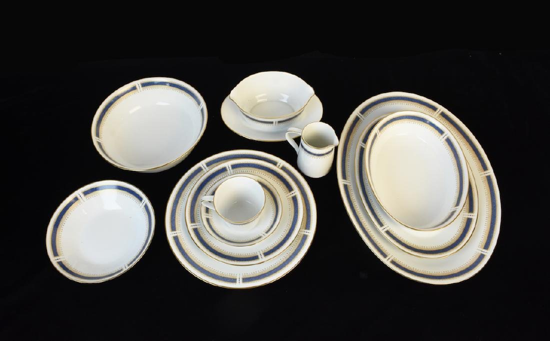 (96) Piece Noritake Blue Dawn Dinner Set