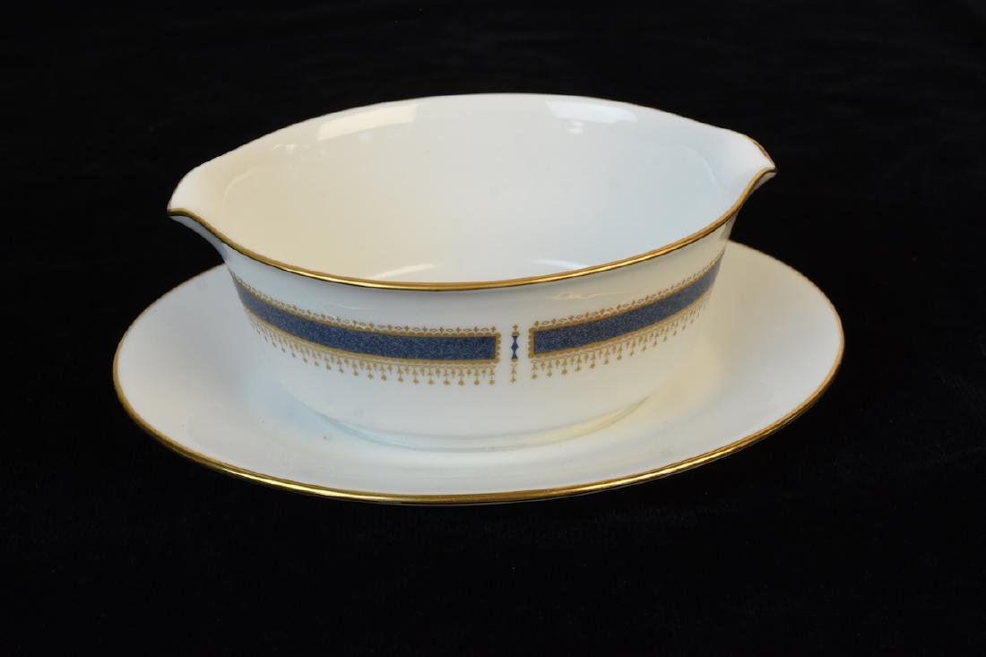 (96) Piece Noritake Blue Dawn Dinner Set - 2
