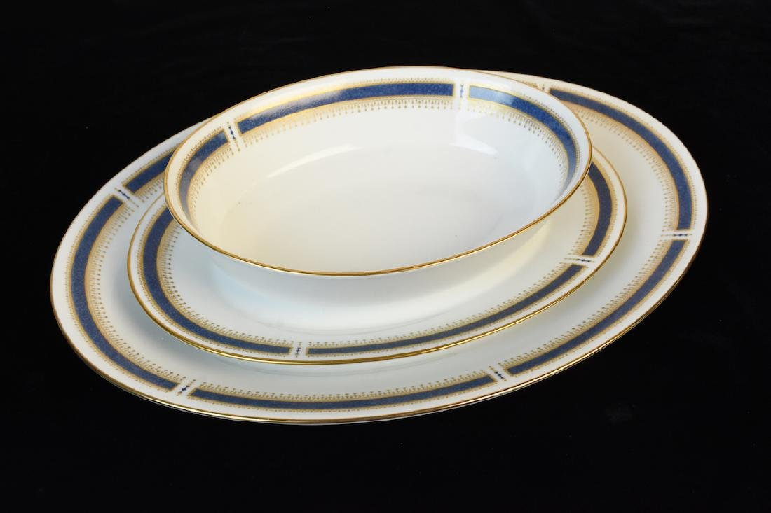 (96) Piece Noritake Blue Dawn Dinner Set - 4