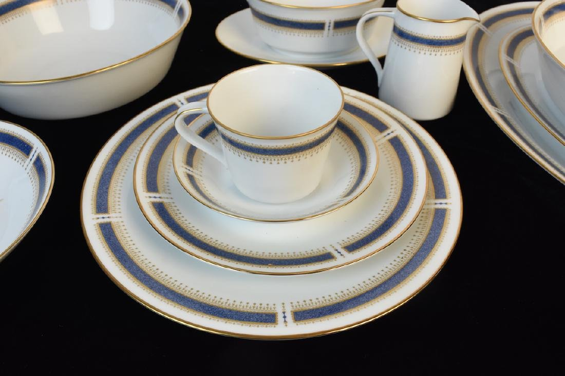 (96) Piece Noritake Blue Dawn Dinner Set - 5