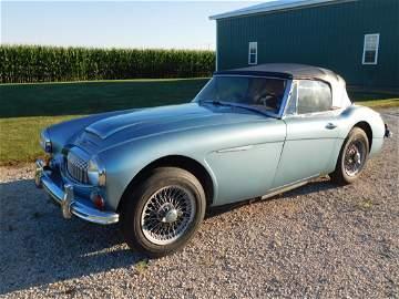 RARE! 1965 AUSTIN HEALEY 3000 MK III