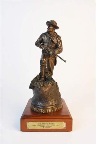 2005 NRA Sculpture The Rough Rider by Rick Terry