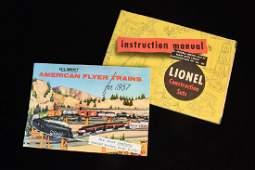 Gilbert & Lionel Train Manual & Catalog