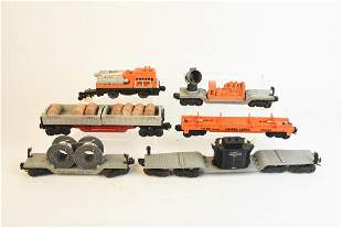 Post War Lionel Train Cars OGauge