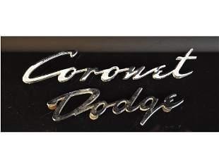 Dodge Coronet Car Emblems