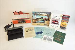 Lionel Train Accessories and Operating Instructions