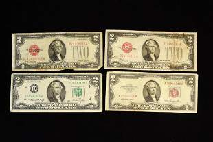 4 United States Federal Reserve Notes