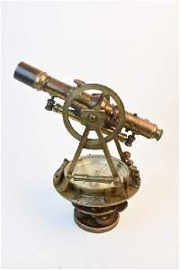 Antique W & L.E. Gurley Surveyor's Transit
