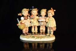 "Hummel Figurine ""We Wish You The Best""; OB"