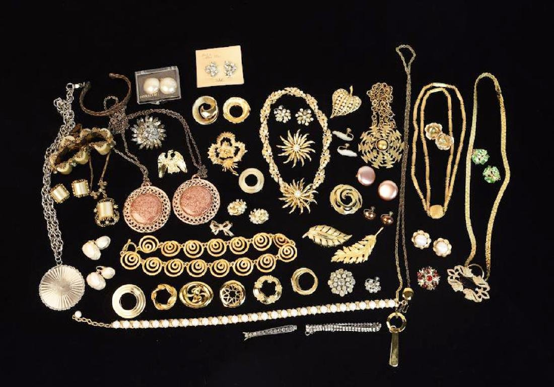 Costume Jewelry; Trifari, Coro, Monet, Napier +